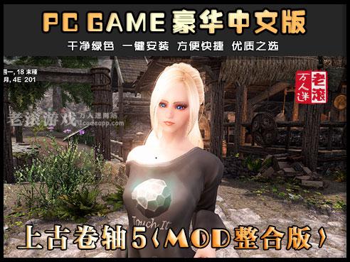 上古卷轴5:天际 少女MOD整合版 60G+170G双版本 中文版 送修改器-第1张图片-老滚游戏