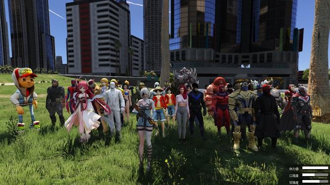 《GTA5中国风MOD整合版》内置修改器+1000载具和180+英雄人物 绿色高清中文版下载-第6张图片-老滚游戏