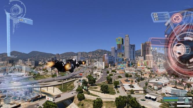 《GTA5中国风MOD整合版》内置修改器+1000载具和180+英雄人物 绿色高清中文版下载-第13张图片-老滚游戏