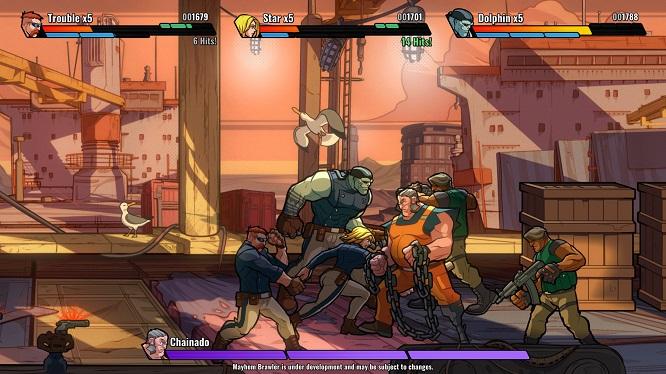 《Mayhem Brawler》绿色中文版-第4张图片-老滚游戏