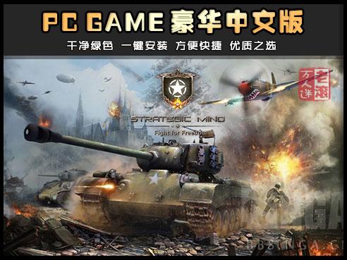 《战略思维:为自由而战》绿色中文版 Strategic Mind: Fight for Freedom-第1张图片-老滚游戏